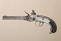 Flintlock Repeating Pistol with Lorenzoni Action, bearing the Crests of Vice Admiral Horatio Nelson, with Case and Accessories MET LC-35 81 3af-009.jpg