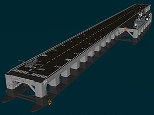 Very large floating structure -  Mobile offshore base