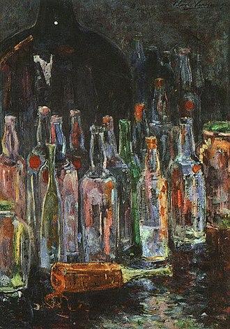 Floris Verster - Image: Floris Verster Stilleven met flessen