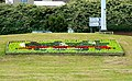 Flowerbed, Transfer Bridge roundabout, Swindon - geograph.org.uk - 1375526.jpg