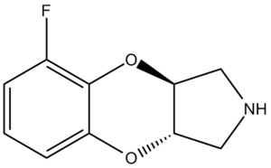 Benzodioxan - Image: Fluparoxan