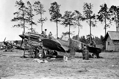 1941年、昆明におけるフライングタイガース