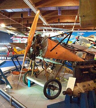 Fokker D.VIII - D.VIII at the Caproni Museum