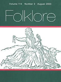 Folklore studies Branch of anthropology devoted to the study of folklore
