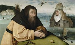 Hieronymus Bosch: The Temptations of Saint Anthony