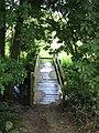 Footbridge over Dodnash Brook towards East End - geograph.org.uk - 498303.jpg
