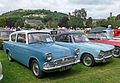 Ford Anglia and Triumph Vitesse (28797868886).jpg