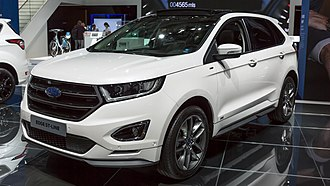 Ford Edge - Image: Ford Edge, IAA 2017, (1Y7A3333)