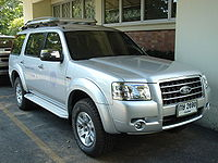Ford Everest (2006–2009)