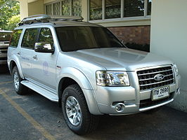 Ford Everest gen. 2 in Thailand.