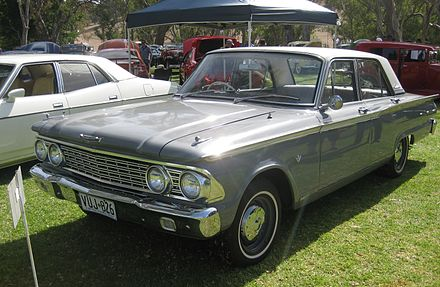 Ford FB Fairlane 500 - Ford Fairlane (Australia)