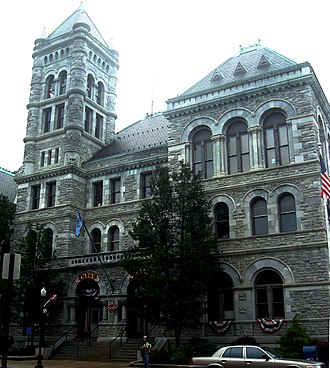 Williamsport, Pennsylvania - Williamsport City Hall, formerly the United State Post Office