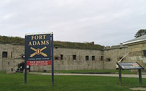 Rhode Island in the American Civil War - Fort Adams