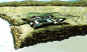Fort Duquesne - Model of Fort Duquesne