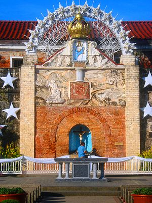 Fort Pilar - The relief of Our Lady of the Pillar