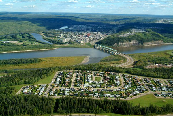 Fort mcmurray aerial