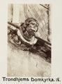 Fotografi av Trondheims domkyrka, Norge - Hallwylska museet - 105803.tif