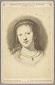 Fotoreproductie van tekening door professor Schurig naar een portret van Saskia van Uylenburgh door Rembrandt Rembrandt Saskia, Frau von Rembrandt (titel op object), RP-F-00-1000.jpg