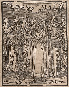 3e99cf8ec3340f Jewish Kabbalists portrayed in 1641; woodcut on paper, Saxon University  Library, Dresden.