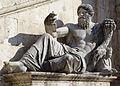 Fountain in piazza del Campdoglio square - Rome - 20140808 2759.jpg
