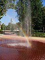Fountain in public garden in city center - panoramio.jpg