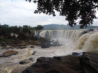 Athi-Galana-Sabaki River - Image: Fourteen falls Thika,Kenya