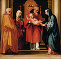 Fra Bartolommeo - The Scene of Christ in the Temple - Google Art Project.jpg