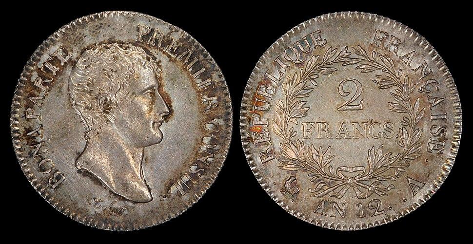 France 1803-A 2 Francs