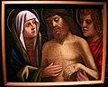 Francesco rizzo da santacroce, cristo morto sostenuto da maria e giovanni (ve), 1508-30 circa (s.m. annunciata a serina).JPG