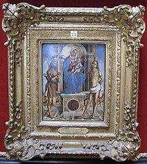 La Vierge et l'Enfant trônant entre Saint Jean-Baptiste et Saint Sébastien