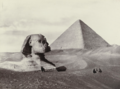 Francis Frith, Great Pyramid and Sphinx, 1855–98, Albumen silver print, MoMA, 184.1972.png