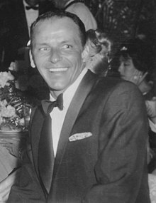 Frank Sinatra at Girl's Town Ball in Florida, March 12, 1960
