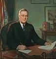 Franklin D. Roosevelt - Portrait by Henry Salem Hubbell.jpg