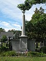 "Franklin Pierce's grave in the Old North Cemetery. It's in the ""Minot Enclosure."" - panoramio.jpg"