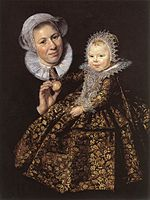 Frans Hals - Catharina Hooft with her Nurse - WGA11059.jpg