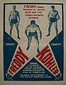 Freddy Kohler Former President of Chicago Polar Bear Wrestling Poster - 1930s.jpg