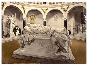 Church of Peace (Sanssouci) - Friedrich III, Emperor Mausoleum c.1900