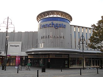 Frenchgate shopping centre Frenchgate south entrance.jpg