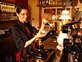Frisch gezapftes Bier!, taverne in Münster, P1010465.jpg