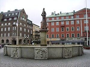 Picture of Fristadstorget in Eskilstuna