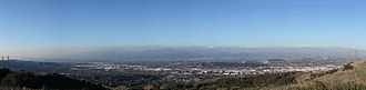 City of Industry, California - Image: From across the Hills
