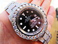 Fully diamond covered ROLEX DeepSea Sea-Dweller watch customized bu TraxNYC.jpg