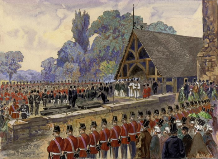 Funeral of Canadian volunteers killed at Ridgeway in the Fenian Invasion (St. James cemetery, Toronto) Pictures-r-1310