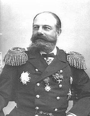 Fyodor Avelan - Admiral Fyodor Karlovich Avelan in 1904