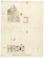 Gårdsanläggningen Stora Ek, före och efter ombyggnad, 1760-tal - Skoklosters slott - 98992.tif