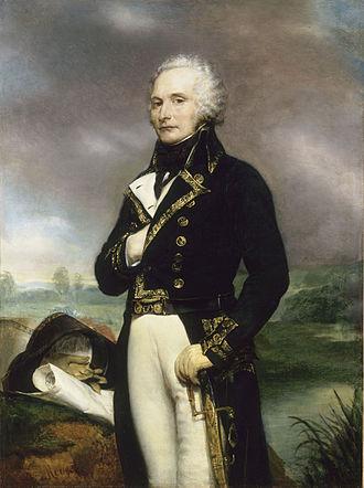 Alexandre de Beauharnais - Portrait by Georges Rouget (1834)