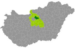 magyarország térkép gödöllő Gödöllői járás – Wikipédia magyarország térkép gödöllő