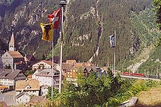 Göschenen - Image: Göschenen