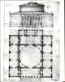 G.F. Hetsch - Udkast til Thorvaldsens museum med anvendelse af Marmorkirkens fundamenter.png