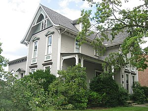 National Register of Historic Places listings in Holmes County, Ohio - Image: G. Adams House in Millersburg